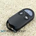 Venta al por mayor de productos de precio remoto Fob 3 botón KOBUTA3T para Nissan Sentra 200sx, X -, Nissan Altima llavero