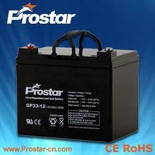 12V 33AH Maintenance Free AGM UPS VRLA Battery
