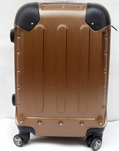 Fashion polycarbonate travel suitcase luggage traveling bags