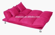 korea sofa /Fashion Suede folding fold up sofa bed B153b