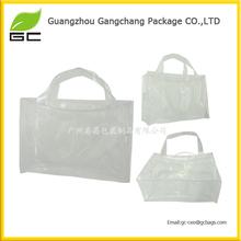 high quality wonderful frosted pvc waterproof zip lock bag