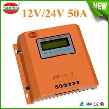 PWM 12V 50A Solar Charging Controller Regulator