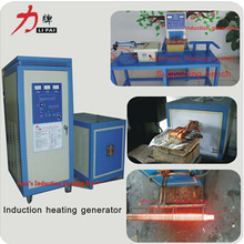 induction melting type and hot selling induction heating workpiece hardening with three phase