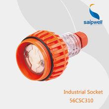 Hot sale european standard 10A 250V 3P IP66 waterproof industrial socket (SP-56CSC310)