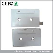 cassette usb flash drive/cassette radio usb key/cassette disk on key