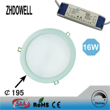 china online shopping hight quality products of 195mm led downlight