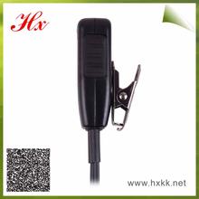 metal clip 360 rotate big side good performance intercom earphone PTT