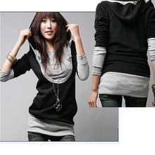 korean fashion cheap china wholesale clothing Woman Long Sleeve Cotton Tops woman sweater Dress Hoodie Coat 2312