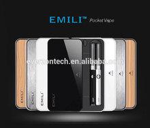 Hottest 1300mah Rechargeable Case emii electronic cigarette Emili case