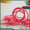 2014 high quality transparent silicone rubber flat ring gaskets