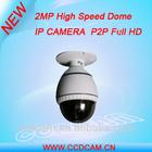 2.0 Megapixel network PTZ IP camera