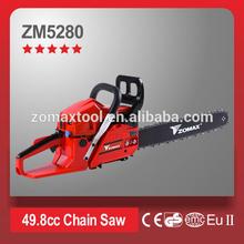 On sale Zomax gasoline chainsaw 52cc jonsered chainsaw