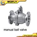 4 manual pulgadas de gas válvula de bola de precio