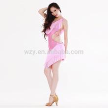 hot girl Pink Ballroom belly Dance Dress arab sexy costume dress