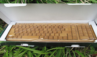 bamboo wireless computer keyboards for sale