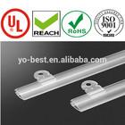 plastic paper Hanger Strip extruded clip frame banner clip poster rails