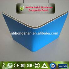 hot sale 2014 bendable antibacterial aluminum composite panel acp acm