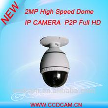 2 Mega Pixel HD IP PTZ Camera onvif high speed dome camera ( EC-IP5918 )
