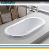 Oval Indoor Drop In Acrylic Bath Tub