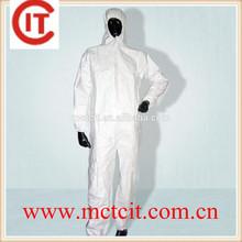 Fabric White Overalls