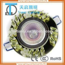 modern crystal lighting living room ceiling lamp LED lights bases for crystals