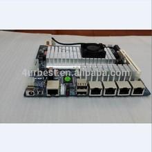 Intel Atom D2550 Motherboard Embedded 4 Ports Firewall Motherboard