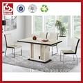 t724 madeira mesa de jantar com tampo de vidro projetos