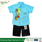 2014 wholesale 100% cotton clothing for boy