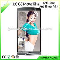 anti-glare matte screen protector saver guard film for LG G3