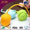 Hot Sale Silicone Rose Shape Tea Mug With Infuser PCQ-03