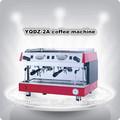 Estilo italiano de alta qualidade cabeças dobro semi- automática máquina de café