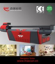 Print media from 1-100mm uv printerMaxcan F2500G logo printing machine