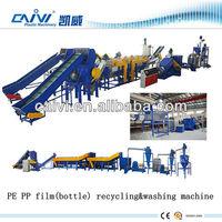 New type high quality plastic film recycling&washing machine