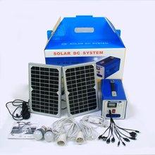 10W Solar Power System solar lighting system mini solar generator