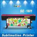 garros se1601 rolo a rolo de tecido de impressão com certificação do ce