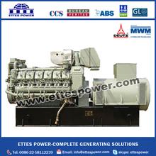500kw MWM Deutz Marine Diesel Engine Generating Set TBD620L6 at 50HZ