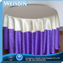 Banquet 5 star Crocheted table skirting design/table cloth