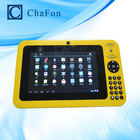1024x600 wallpaper tablet pc 7 inch with Android 4.2 / 4.4 OS with 3G,WiFi,ethernet network with 1D or 2D barcode optional