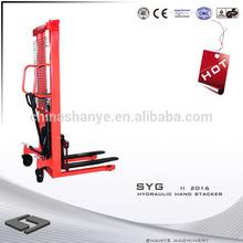 2000kg Hydraulic Hand Stacker hydraulic materials handling solutions
