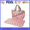 Factory Tote Diaper Bag Canvas Tote Diaper Bag Floral Printed Diaper Tote Bag OEM