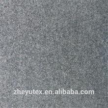 Good quality wool viscose blend plain wool fabric