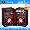 2015 Double 8 inches New 2.0 Stage Speaker portable stereo digital speaker