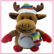 2015 New Design Soft Christmas Toys, Toy Skins, Swing Toy