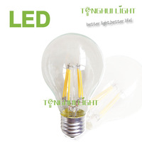 2014 Newest design 6w led filament bulb, e27/b22 A60 led filament lamp