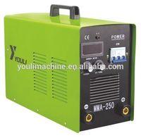 Portable three phase 300 amp mma inverter arc welding machine