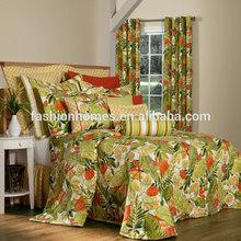 Shanghai Fashion Homes Bedspread and Curtain Set