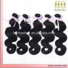 Hot vente 2014 5a grade de qualité supérieure 100% uprocessed cheveux dominicaine
