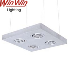 2014 Modern Design 12W Aluminum Warm White LED Pendant Light