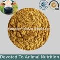 Arterial comida y harina de plumas