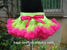 Venta al por mayor del arco iris de la falda samba vestidos